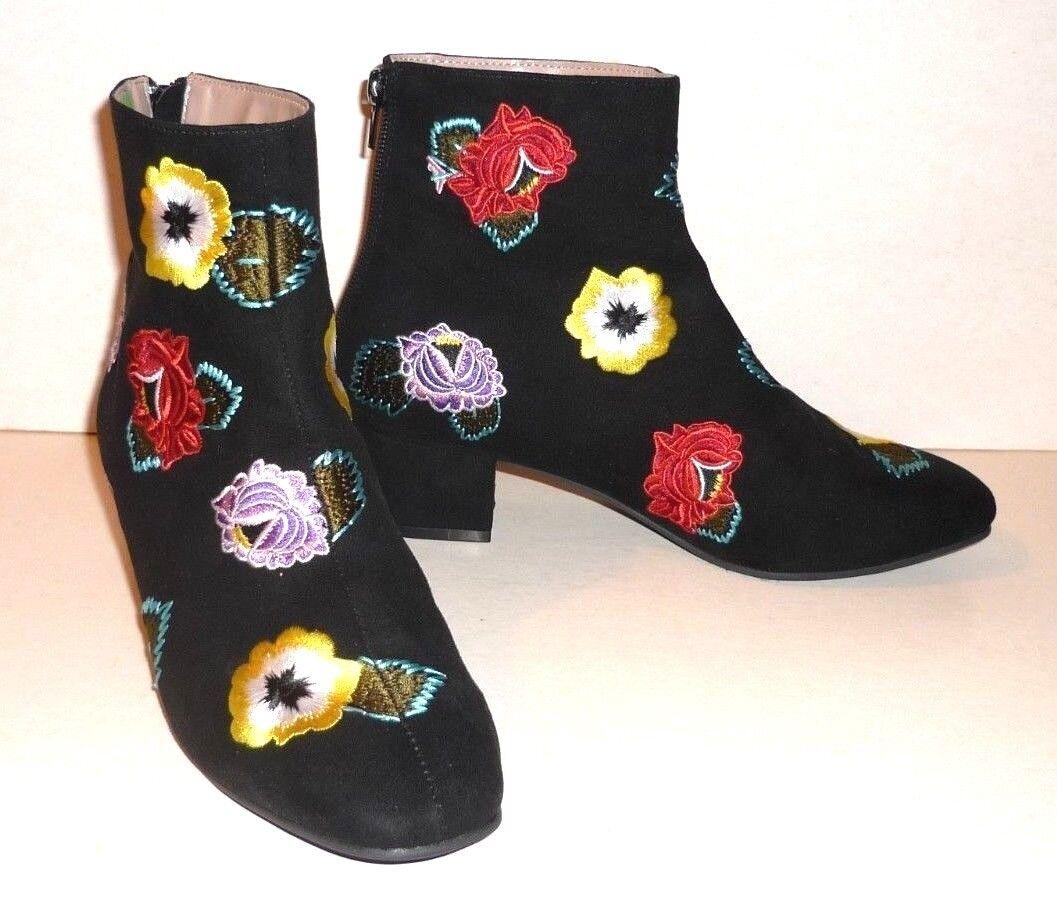 BETSEY JOHNSTON(8R<wbr/>RP) Block Heel Black Women&#039;s Booties Size 6.5(40)- New