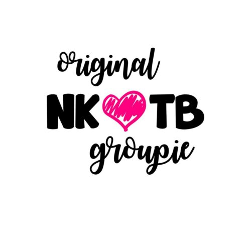 Original Nkotb Groupie Vinyl Decal