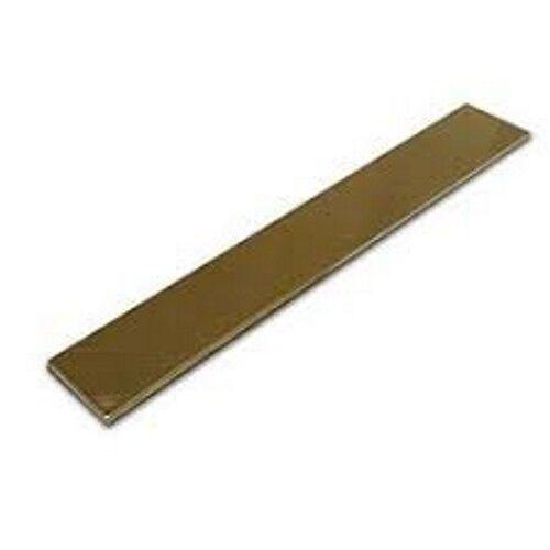 "1/"" Brass Flat Bar x 300mm long 25.40mm C385 x 3//8/"" 9.52mm"