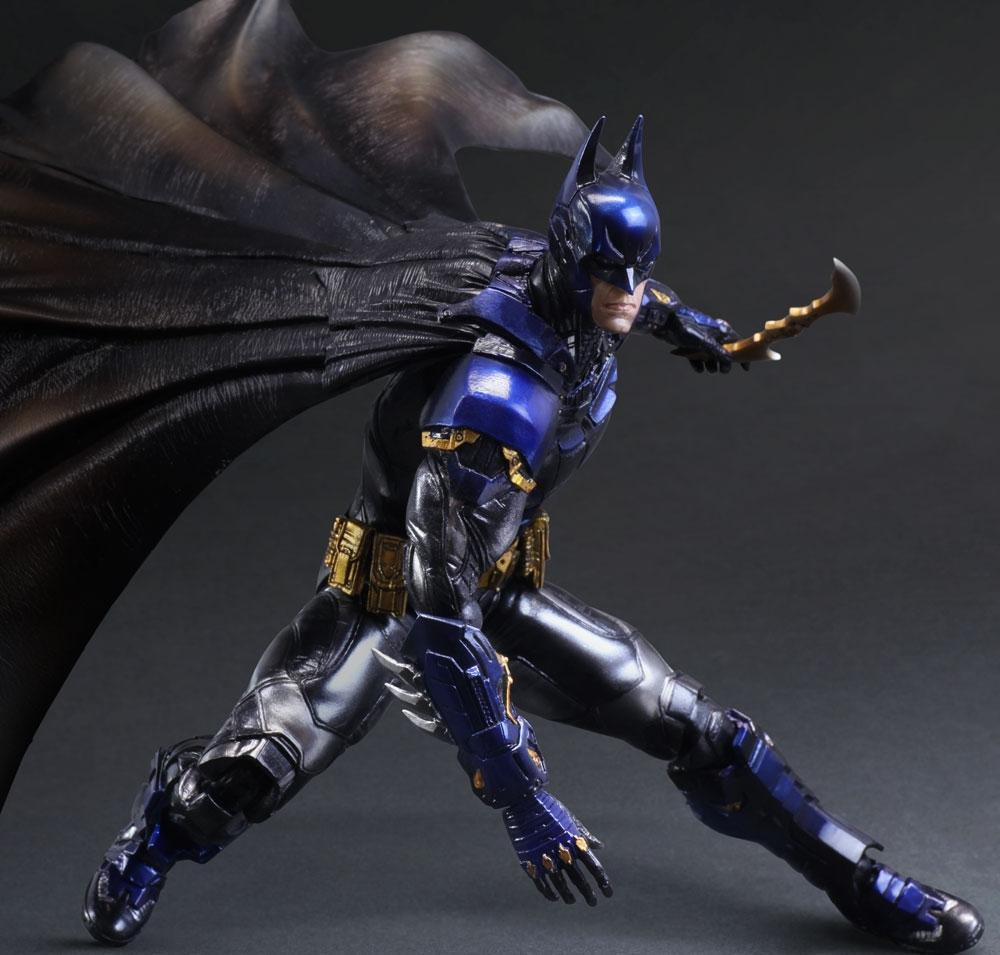 Officially Licensed DC Comics Arkham Knight bluee Batman Play Arts Kai SDCC2015