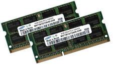 2x 8GB 16GB DDR3 SODIMM Notebook Speicher RAM 1333 Mhz