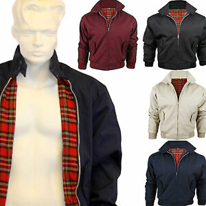 BRAND-NEW-MEN-039-S-CLASSIC-VINTAGE-RETRO-BOMBER-HARRINGTON-TRENDY-JACKET-COAT