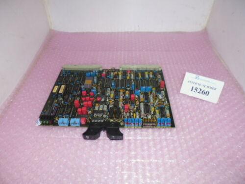Proportional control card SN. 123.085, Bosch No. 0 811 405 047 SPR, Arburg