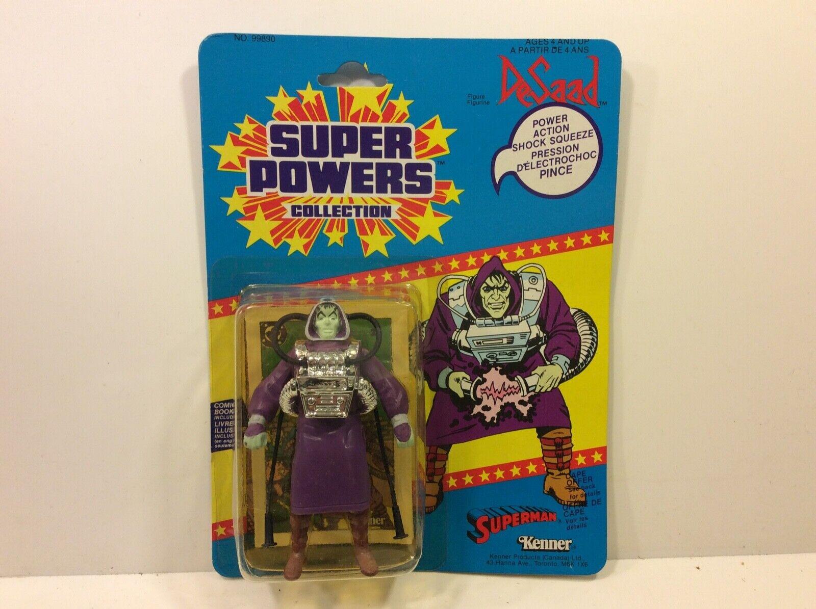 Vintage SUPER POWERS DeSaad Kenner Action Figure Sealed 1985