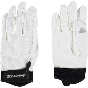 DAINESE-Baiardo-Mens-Motorcycle-Gloves-White-Black-sizes-M-L
