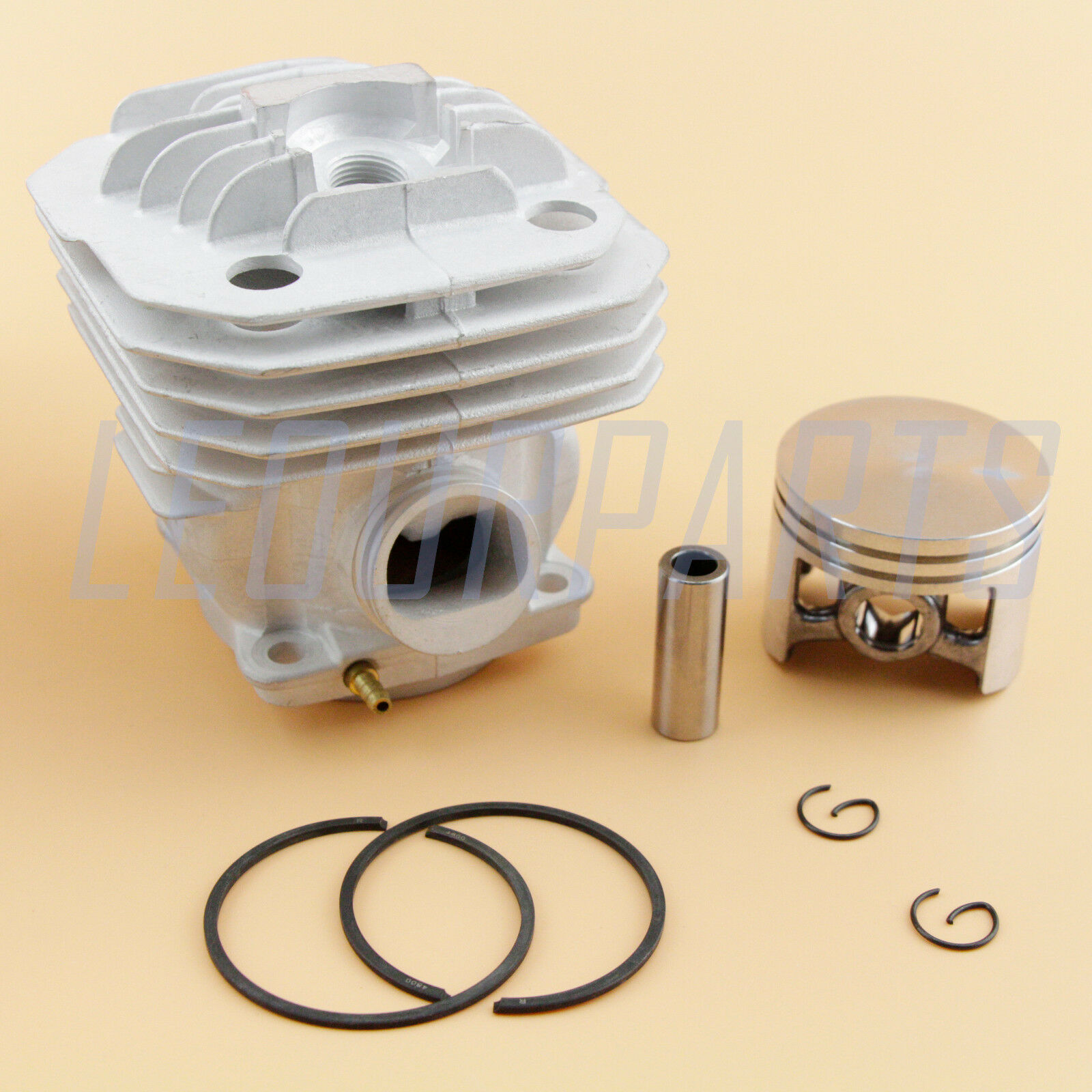48MM Cylinder Piston Kit For Oleo Mac 956 Efco 156 Chainsaw OEM  500 120 95A