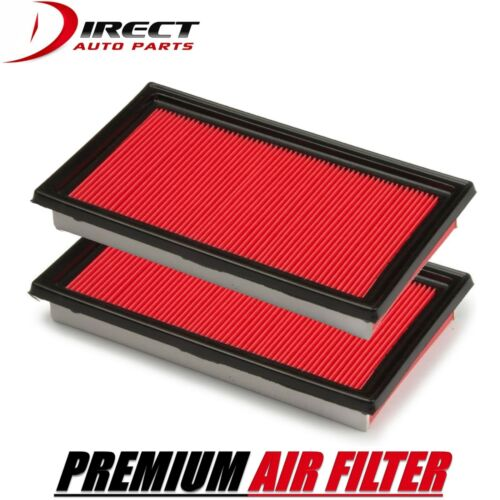 2 PACK AIR FILTER FOR INFINITI FITS QX4 3.5L ENGINE 2001-2003