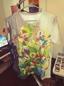 Pokemon Shirt Grass Starter