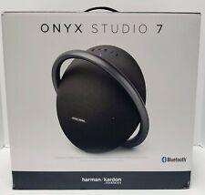 Harman Kardon Onyx Studio 7 Portable Stereo Bluetooth Speaker - Black (New)