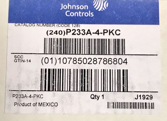 Details about  /New Johnson Controls P233A-4-AKC Differential Air Pressure Switch Vertical Set