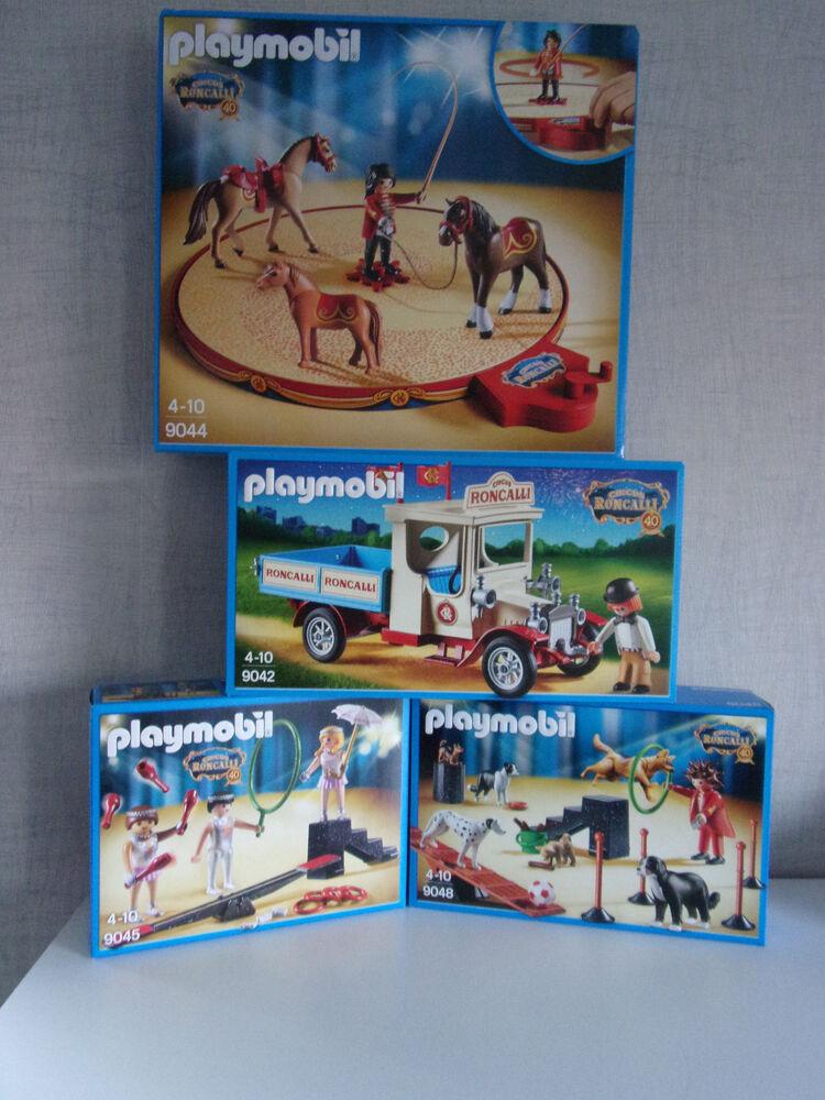 Playmobil Roncalli Cirque Set's à Choisir - Neuf Et Emballage D'origine