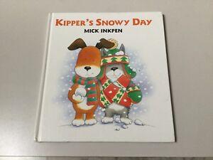 KIPPER-039-S-SNOWY-DAY-BY-MICK-INKPEN-HARDCOVER-NEW
