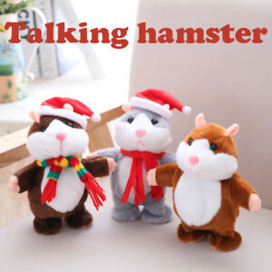 Cheeky-Hamster-Talking-Walking-Nodding-Sound-Record-Electric-Toy-Kids-Gift-EP