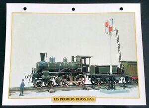Fiche Trains Jouets & Modélisme Ferroviaire; Premiers Trains Bing Ed Atlas U60103Mk-08060615-956382572