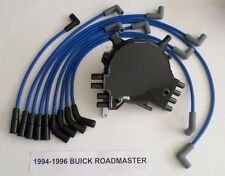 BUICK ROADMASTER 1994-1996 LT1 5.7L OPTISPARK Distributor, BLUE Spark Plug Wires