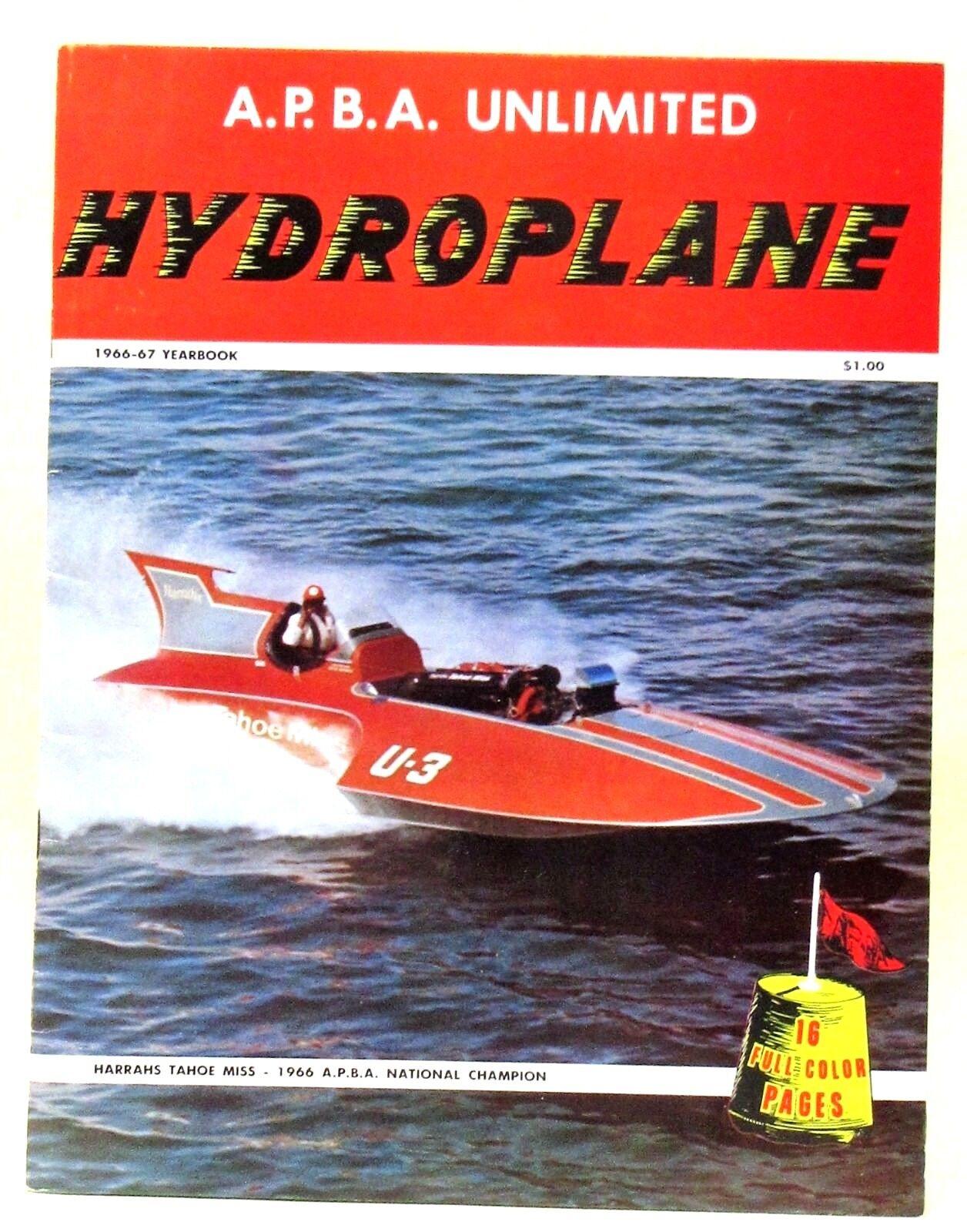 1966-1967 a.p.b.a. patinará Anuario barco Racing Libro W