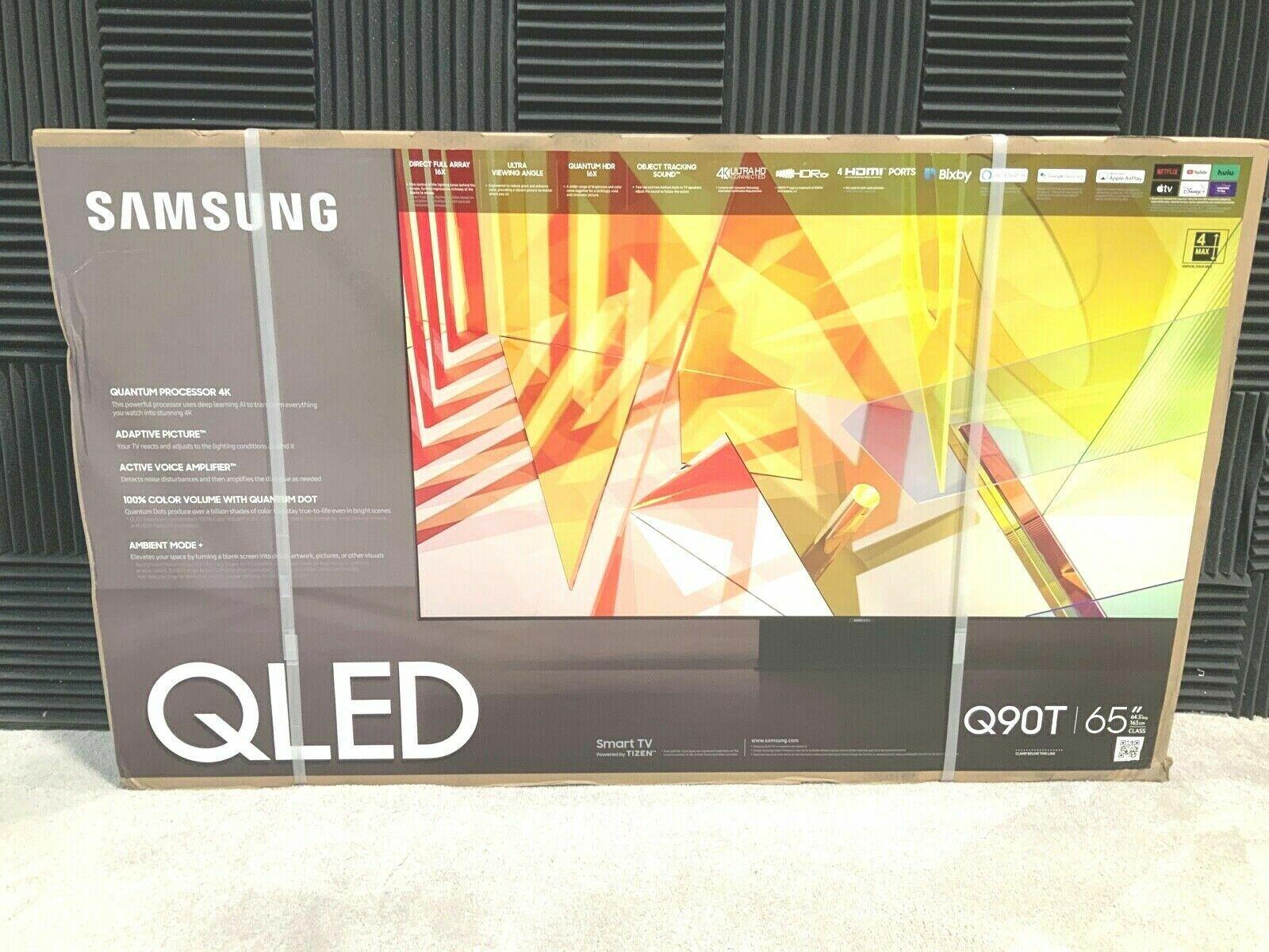 NEW Samsung QN65Q90TA QLED 65 Quantum 4K UHD HDR Smart TV QN65Q90TAFXZA 2020. Available Now for 800.00