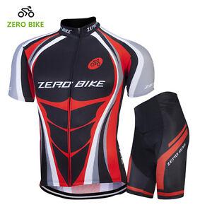 Mens Cycling Jersey Set Ciclismo Bike Racing Clothing Cycling Jersey&Shorts Kits