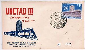 Chile-1972-FDC-UNCTAD-III