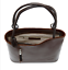 new-ladies-evening-casual-Italian-leather-large-knot-handle-tote-shoulder-bag thumbnail 4