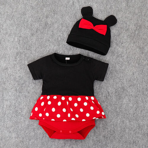 BABY GIRL MINNIE MOUSE Romper playground bodysuit