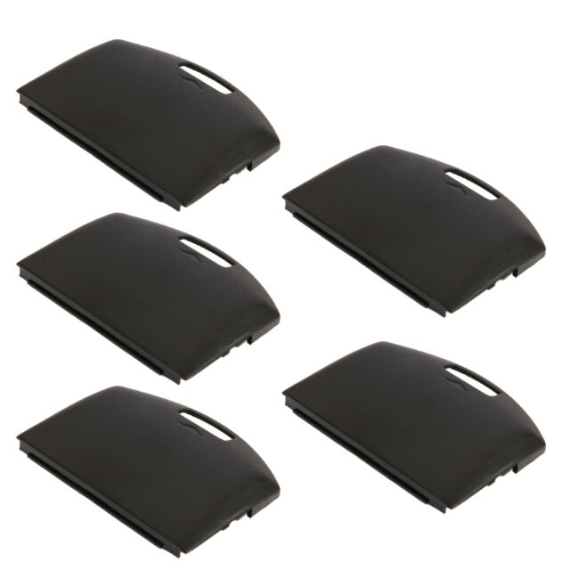 5x Battery Cover Door Case Replacement Repair Parts for SONY PSP 1000 1001 Black