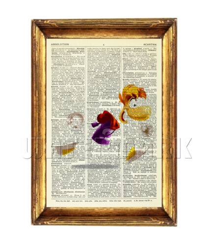 RAYMAN Dictionary Art Print Picture Poster Wall Art Playstation vintage