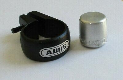 New Abus Nutfix SPC Locking Seatpost Clamp 31.8mm Prevent Bike Seat /& Post Theft