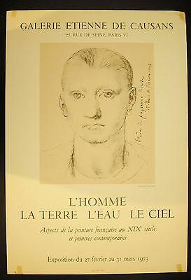 Affiche Exposition Galerie Etienne De Causans 1973 Peinture Du Xix Th Una Gran Variedad De Modelos
