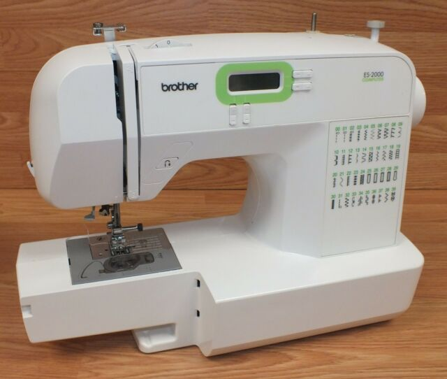 Brother ES40 40 Stitch Function Computerized Arm Sewing Machine EBay Fascinating Brother Sewing Machines Repair