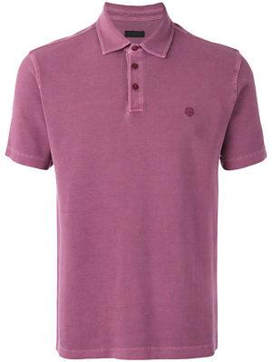 28476233bce6e Ermenegildo Z ZEGNA Light Plum Pique Cotton Polo Shirt Top S RRP: £150.00 |  eBay