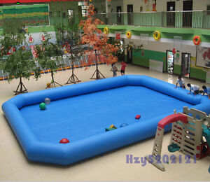 Details about PVC Inflatable Pool Swimming Pool For Walking Ball Zorb Ball  Games Various Size