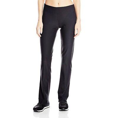 adidas Womens CLIMALITE Straight Workout Pant Athletic Yoga Black Leggings XS-2X