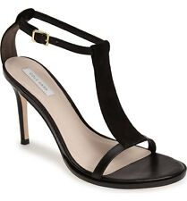 $228 COLE HAAN 'Cee' T-Strap Sandal black size 8B NEW