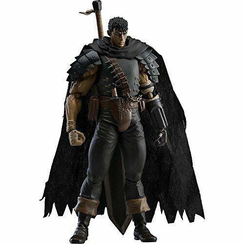 Max Factory USED figma Berserk Guts Figure Black Swordman ver