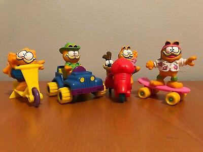 Vintage 1980/'s Garfield PVC Figure Safari Garfield MCDONALD/'S Vintage Happy Meal Toy Rare Nostalgia Lot 4