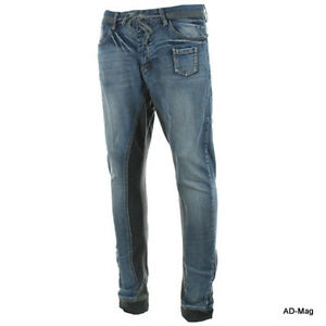 Pantalon-Jeans-Homme-SIXTH-JUNE-ED132105-Joggeans-W30-32-33-34-36-US-NEUF
