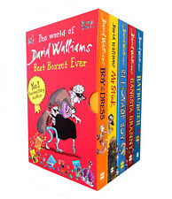 World Of David Walliams 5 Books Children Collection Paperback New Box Gift Pack