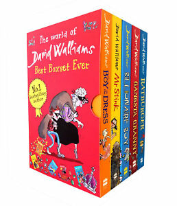 World-Of-David-Walliams-5-Books-Children-Collection-Paperback-New-Box-Gift-Pack