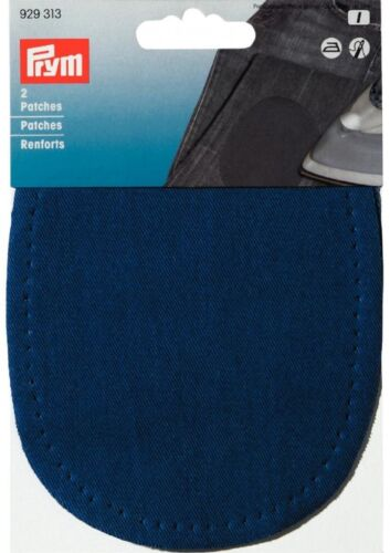Prym Iron On Cotton Elbow /& Knee Patches per pack of 2 929310-M