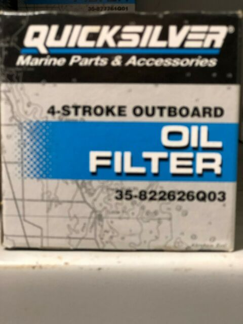 Mercury Quicksilver O/B 4 Stroke Oil Filter