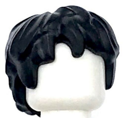Hair Thick and Messy Piece Lego New Black Minifig