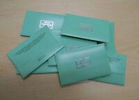 10PCS Anti-Tarnish Silver Polishing Cleaning Cloth Cleaner Platinum Jewelry