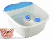 VIBRATING WET OR DRY FOOT SPA INFRARED MASSAGER PEDICURE FOOTSPA FOOT MASSAGE