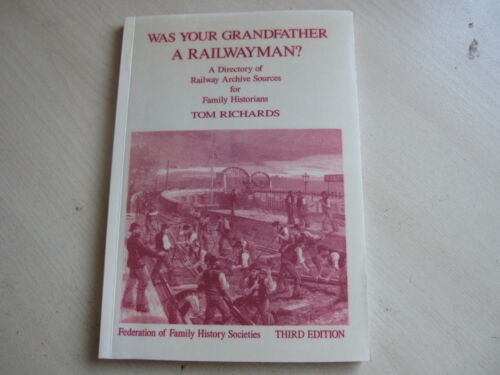 1 of 1 - Was Your Grandfather a Railwayman?,   NEW