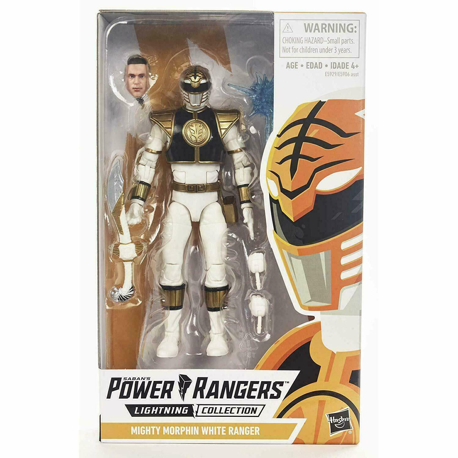 Power Rangers NEW White Ranger Lightning Collection 6-Inch Action Figure Toy