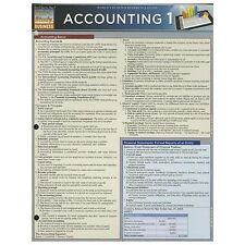 Accounting 1 by Inc. BarCharts (2013, Book, Other)