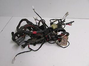 piaggio fly 125 2004 2005 2006 2007 2008 wiring loom harness ebay rh ebay com Ford Wiring Harness Kits Wiring Harness Connector Plugs