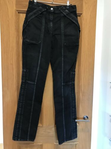 Size Gorgeous Washed Valentino Black High Women's Jeans Waisted 25 vgq0UgTwxr