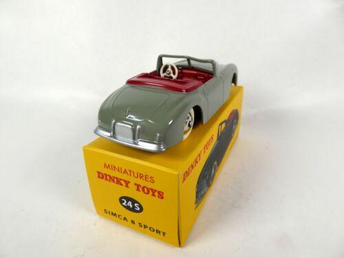 Simca 8 Sport Dinky Toys DeAgostini Voiture Model Car 24S